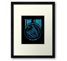 Time Lord Shipping & Logistics Framed Print