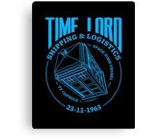 Time Lord Shipping & Logistics Canvas Print