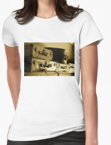 Luggage Womens Fitted T-Shirt