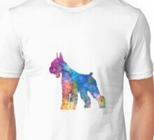 Giant Schnauzer 01 in watercolor Unisex T-Shirt