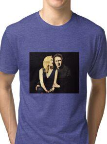 Gillian and David aka Schmoopies Tri-blend T-Shirt