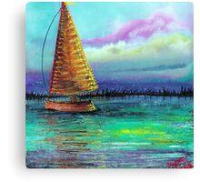 Sailboat Cruise Canvas Print