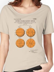 Basketball Patent - Colour Women's Relaxed Fit T-Shirt