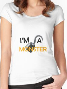 """Arrested Development """"I'm A Monster"""" Women's Fitted Scoop T-Shirt"""