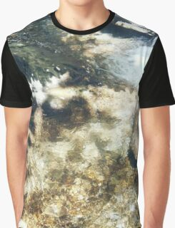 Water Flowing Graphic T-Shirt