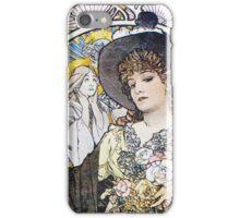 Alphonse Mucha - La Tosca iPhone Case/Skin