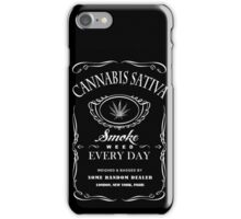 Smoke Weed Every Day iPhone Case/Skin