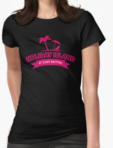 Camp Bestival's First Choice Holiday Island Womens Fitted T-Shirt