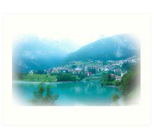 Molveno / Trentino / Italy (north) ~4~ Art Print