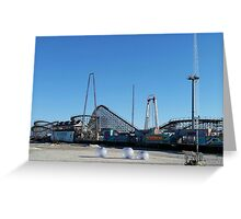 Moreys Piers Great White Greeting Card