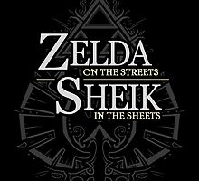 Zelda in the Streets by Zhivago