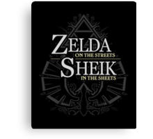 Zelda in the Streets Canvas Print