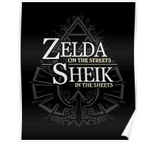 Zelda in the Streets Poster