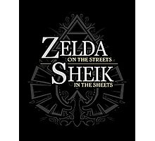 Zelda in the Streets Photographic Print