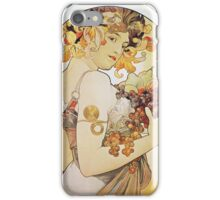 Alphonse Mucha - Le Fruitfruit iPhone Case/Skin