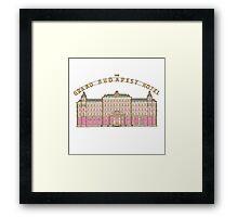 The Grand Budapest Hotel Framed Print