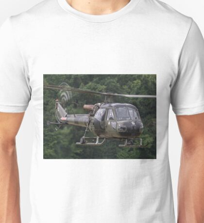 British Army Westland Scout Helicopter Unisex T-Shirt