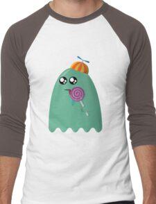 Pac-Man Ghost Men's Baseball ¾ T-Shirt