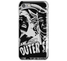 They Came From Outer Space! - Black Edition iPhone Case/Skin