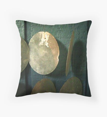 Wind Chime in Blue 02 Throw Pillow