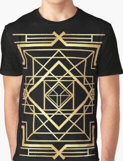 1920 Art deco Gatsby Style Graphic T-Shirt