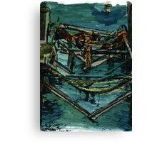 Rusty Docks  Canvas Print