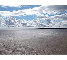 Morecambe Bay From A Cross Bay Walk Photographic Print