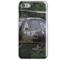 British Army Westland Scout Helicopter iPhone Case/Skin