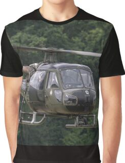 British Army Westland Scout Helicopter Graphic T-Shirt