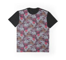Thai elephants family Graphic T-Shirt