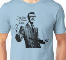 The Day The Music Died, Buddy Holly Unisex T-Shirt