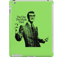 The Day The Music Died, Buddy Holly iPad Case/Skin
