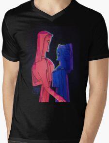 LOVE of Gods Mens V-Neck T-Shirt