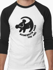 Remember Who You Are Men's Baseball ¾ T-Shirt