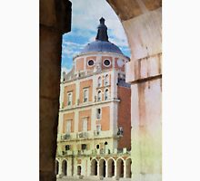 Aranjuez royal castle in watercolor Unisex T-Shirt