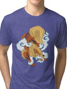 Hound of fire Tri-blend T-Shirt