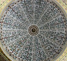 Istanbul Topkapi Palace Haram Ceiling  by rsangsterkelly