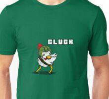 """Gamecrown's Admin Chicken: """"CLUCK"""" Unisex T-Shirt"""