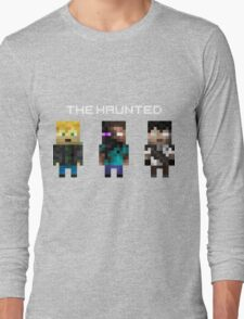The Haunted - Pixelated Long Sleeve T-Shirt