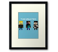 The Haunted - Pixelated Framed Print