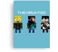 The Haunted - Pixelated Canvas Print