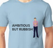 "Jeremy Clarkson ""Ambitious but rubbish"" original design Unisex T-Shirt"