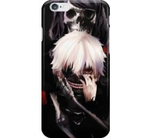 kaneki and the rize infection iPhone Case/Skin