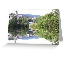 Town Greeting Card