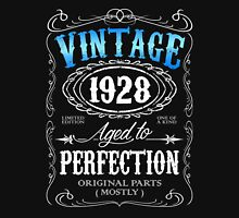 Vintage 1928 aged to perfection 88th birthday gift for men 1928 birthday Unisex T-Shirt