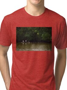 Out in the Water Tri-blend T-Shirt
