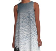 Sky Clouds A-Line Dress