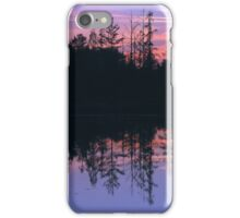 Reflections on Circle Lake iPhone Case/Skin