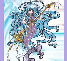 Mermaid Queen by gezusgeek