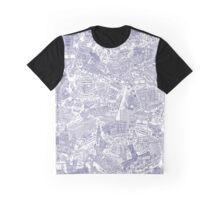 Illustrated map of Berlin-Mitte. Ink pen design Graphic T-Shirt